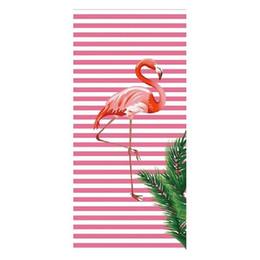 $enCountryForm.capitalKeyWord NZ - New Style Flamingo Tiger Animal Printed Summer Sports Beach Towel Microfiber Bath Towels for Adults Kids Camping Picnic Yoga Mat Blanket