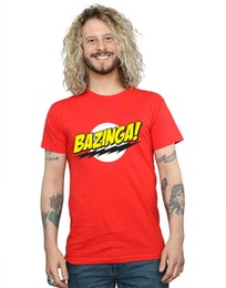 $enCountryForm.capitalKeyWord Australia - The Big Bang Theory Men's Sheldon Bazinga T-Shirt Style Round Style tshirt Tees Custom Jersey t shirt hoodie hip hop t-shirt