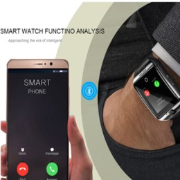 smart watches for windows Australia - Hot Q18 Smart Watch Bluetooth Smart Watches For Android Cellphones Support SIM Card Camera Answer Call and Set UP Various Language with Box