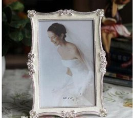 d08dcee4ea Free shipping 6 7 8 inch metal photo frames for Picture European Foto Frame  Table Decor Christmas Gifts