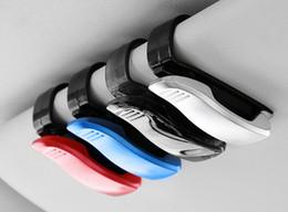 Hanging Product Australia - Car multi-function glasses clip sun visor car glasses frame paper clip car interior products