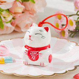 China Ceramics Cat Candy Case Wedding Favors Party Gifts Jewellery Ring Wind Chime Storage Box High Grade Romantic ECO Friendly 3 3sfC1 cheap cat money boxes wholesale suppliers