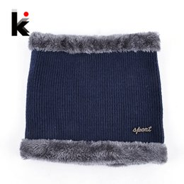 $enCountryForm.capitalKeyWord UK - Winter Knitted Face Mask For Men And Women Outdoor Sports Muffler Scarf Set Add Velvet Thick Snow Skullies Beanie Hat Knit Cap