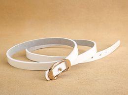 Travel Belts Australia - Fashion woman belt jeans belts travel casual luxury belt women dress thin belt free shipping