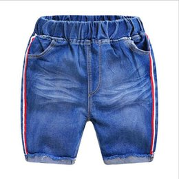 Denim Style For Babies Australia - Toddler Boys Clothes Jean Shorts 2019 Summer Children Casual Shorts For Boys Elastic Waist Shorts Kids Denim Short Pant Baby Clothing 2-7Y