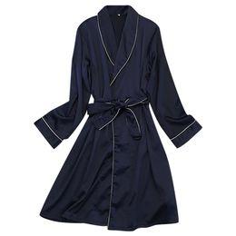 $enCountryForm.capitalKeyWord Australia - New Arrival Fashion Womens Sexy Silk Sleepwear Lingerie V-Neck Nightwear Soft Underwear Solid Night Gown Robe pizama damska