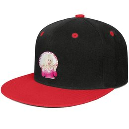 Wig Grey Australia - Dolly Parton Golden wig country music Red for men and women hip-hop flat brim cap cool designer custom design your own fashion baseball cut