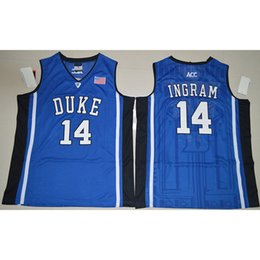 aee21313 Mens Brandon Ingram Jersey Duke Blue Devils Christian Laettner College  Basketball Jerseys High Quality Stitched Name&Number Size S-2XL