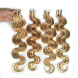 $enCountryForm.capitalKeyWord Australia - Best Sell Skin Weft Tape In Hair Extension Brazilian Remy Human Hair Body Wave 100g 40piece Ali Magic Factory Price