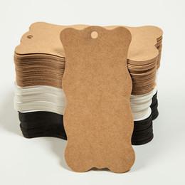 $enCountryForm.capitalKeyWord UK - 10*5cm long polygonal blank small label bookmark kraft cardboard high-grade clothing tag 100pcs lot