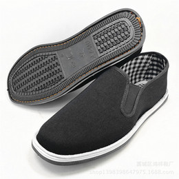 $enCountryForm.capitalKeyWord NZ - ChinaTraditional Handmade Non-slip Shoes Bruce Lee Retro Kung Fu Shoes Chunchun Tai Chi Slippers Martial Arts Cotton Rubber Shoes