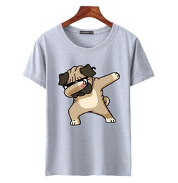 1451cacf3554 2019 new Men s short sleeve Round neck T-shirts Fashion Animal Dog Print  Hipster Funny t shirt Men Summer Casual street Hip-hop Tee shirt