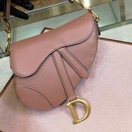 ed895524e979b Discount handbags Luxury classic designer handbag high quality leather  ladies shoulder bag saddle bag 2019 new