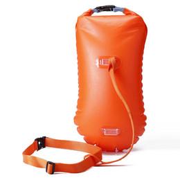 $enCountryForm.capitalKeyWord Australia - Waterproof PVC Swimming Bag Multifunctional Buoy Safety Air Dry Float Bag Tow Float Swimming Rings Inflatable Flotation