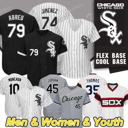 Jays baseball online shopping - Chicago Custom White Sox Jerseys Jon Jay Eloy Jimenez Frank Thomas Yoan Moncada Michael Kopech Jose Abreu