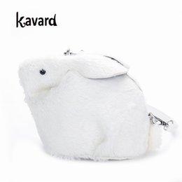 Designer Cute Mini Flap Faux Fur rabbit bags for women 2019 clutch luxury  handbag women bag designer clutch bolsos mujer Kawaii BAGS SAC 30177fcae5805