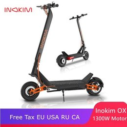 Wholesale Newest Inokim OX OXO electric scooter High Speed motor 60V 1300W off-raod e-scooter 45km h instead of walking scooter