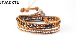 Nugget bracelets online shopping - tiger eyes mix silver nuggets double wrap bracelet