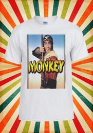 Red Monkey T Shirts Australia - Monkey Magic Japanese Anime Manga T Shirt 142E mens pride dark t-shirt white black grey red trousers tshirt suit hat pink t-shirt