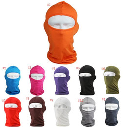 Lycra Motorcycle Face Mask Australia - Free Shipping Lycra 17 Color Fashion soft equipment outdoor riding motorcycle windbreak dustproof CS Mask Party Masks SN3241