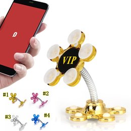 $enCountryForm.capitalKeyWord Australia - Sucker Stand Phone Holder 360 degree Rotatable Magic Suction Cup Mobile Phone Holder Car Bracket Smartphone Tablets Holder MMA2470