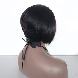 $enCountryForm.capitalKeyWord UK - new style pixie cut human hair lace front wig , custom make short hair wigs lace front