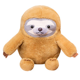 AdorAble bAgs online shopping - Creative cute adorable sloth doll pillow doll cloth bag plush toys for girls baby gifts