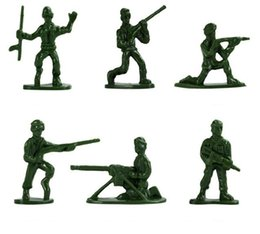 Plastic Military Battle Soldier Action Figure Model Set Toy Men Sandbox Game Corps Ship Tanks Accessories Suit Adults Toys Gift To Enjoy High Reputation At Home And Abroad Toys & Hobbies