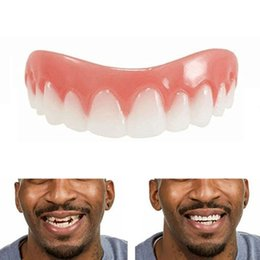 New Simulated Dental Bracket in 2019 Silicone Teeth Braces Instant Smile Comfort Fit Flex Silicone Simulation Teeth Braces Silicone on Sale