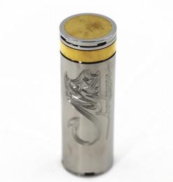 Stingray 30 мм механический мех Mod 26650 аккумулятор тело трубка из нержавеющей стали испаритель пара Vape ручка Nemesis King