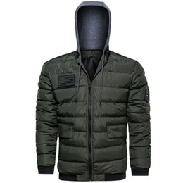 Thick Winter Parka Australia - New Winter Jacket Men Thick Warm Parkas Casual Outwear Cotton Jackets and Coats Man Plus Size Brand Clothing Dropshipping