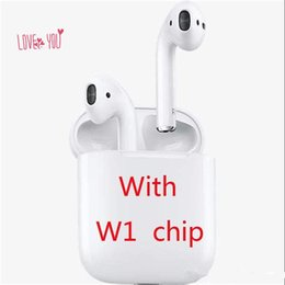 $enCountryForm.capitalKeyWord UK - High W1 Version For Airpods TWS Bluetooth Earphones Wireless Earbuds Activate Siri Support Touch Control for iPhone Samsung PK As Original