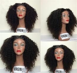 Afro Kinky Human Hair Wigs Australia - Afro Kinky Curly Wig Remy Human Hair Wigs For Women Brazilian Short Wig Free Shipping