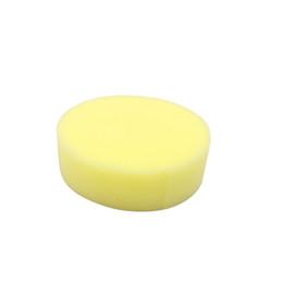 $enCountryForm.capitalKeyWord UK - 1PCS Car Vehicle Wax Polish Foam Sponge Hand Soft Wax Yellow Sponge Pad Buffer for Car Detailing Care Wash Clean