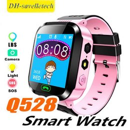 $enCountryForm.capitalKeyWord Australia - Hot Smart Watch Kids Q528 Touch Screen LBS Tracker WatchAnti-lost Children Wrist Watchs SOS Call For Android IOS With Remote Camera
