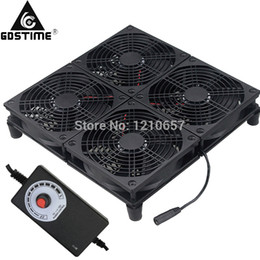 $enCountryForm.capitalKeyWord NZ - 120MM 4 Cooling Fans Modem TV Box Gaming Router Radiator Base Adjustable Power Adapter Laptop Cooler Stand For ASUS GT RT-AC5300