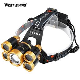 $enCountryForm.capitalKeyWord UK - WEST BIKING Cycling Headlight 600 Lumens 5 LEDs Waterproof T6 Bulb USB Rechargeable High Power 4 Modes Outdoor Bicycle Headlamp #738626