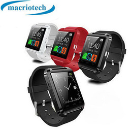 $enCountryForm.capitalKeyWord NZ - Bluetooth U8 Smart Watch Wrist Watches Without Altimeter For iPhone 6 Samsung S6 Note 5 HTC Android Phone In Gift Box