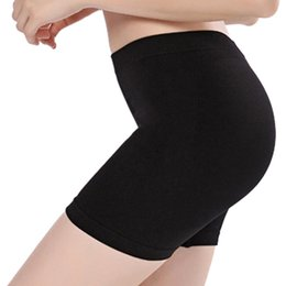 Wholesale under pants for sale - Group buy Women Soft Nylon Seamless Safety Short Pants Summer Under Skirt Shorts Modal Ice Silk Breathable Short Tights Soild Safety