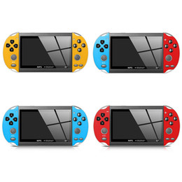Music gaMes children online shopping - 8G X7 Video Game Player inch GBA Handheld Game Console Retro Games LCD Display Game Player for Children DHL free