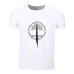 $enCountryForm.capitalKeyWord NZ - Lord Of The Rings Rree Symbol Cotton Summer T-Shirt Custom Casual Short Sleeve Men Women Boys Girls T Shirt Tees Kids Tshirt