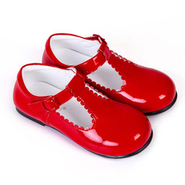 Girls Without Shoes Australia - Pettigirl Infant Toddler Shoes For Baby Girls Microfiber Leather PU Shoes For Kids Handmade Children Shoes (Without Shoe Box)