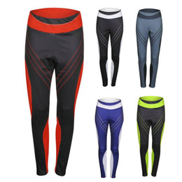 Workout Gym Leggings UK - Female Fitness Dry Quick Workout Yoga Sweatpants Women Sport Leggings Elastic Patchwork Pants for Running Gym