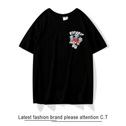 mushroom t shirt 2020 - T-shirt Man and woman 2020 high quality Cheap cat mushroom Alien Cotton Half sleeve fashion trend Wild Short sleeve new