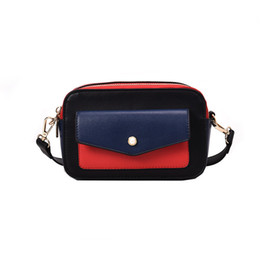 Camera Women Australia - Pop2019 Color Hit Woman Camera Width Straps Small Square Messenger Single Shoulder Package