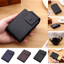 leather mens cell phone holder wallet 2019 - Fashion Men Wallets Soft Leather Men's Holder Solid Wallet Cardet Wallet Id Bank Card Holder Wallets Mens Money che