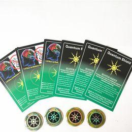 Quantum Shield etiqueta engomada del teléfono móvil para el teléfono celular Anti radiación protección de EMF Fusion Excel Anti-radiación en venta