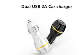 Car Lights Australia - Fast charging Dual usb Led light Strawberry Car charger Chargers 2.1A+1A Adapter for iphone xs xr samsung S9 NOKOKO