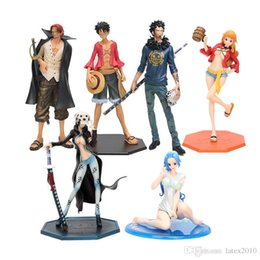 $enCountryForm.capitalKeyWord UK - 14-25cm Japanese Anime One Piece P.O.P Nami Dressed in Luffy Outfit with Casks Version PVC Figure New in Box