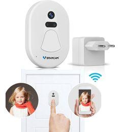 5beb491999b Smart Wireless WiFi DoorBell Camera Visual Remote Control Home Security  Night Vision Video Door Phone
